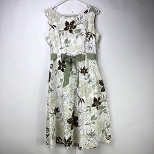 Studio I Sleeveless Floral Dress